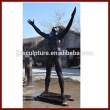 Bronze Naked Man Sculpture