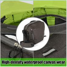 Outdoor for SLR canvas sponge lining dslr slr bag leather