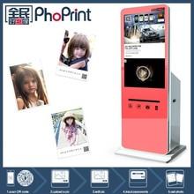 42 pulgadas soporte de suelo ventana de pantalla de publicidad, Lcd de visualización de anuncios / foto de la máquina expendedora