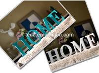 2015Teda Wooden decoration big letter Living Room Decoration