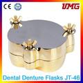 Kit dental cu-zn de aleación de aluminio de la dentadura flasksjt- 46 precio