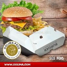 BURGER BOX,BURGER FALTBOX ,Porta hamburger/Panino