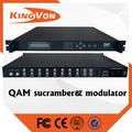 Digital de televisión por cable hd video modulador RF de cabecera equipo