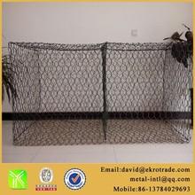 Gabion Box/ Gabion Basket/PVC coated stone cage