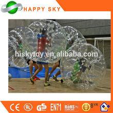 CE prove PVC/TPU bubble soccer cork,crazy loopy ball,bubble boy soccer