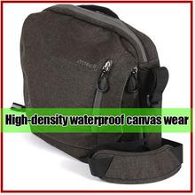 Durable canvas Portable Ride Storage photo camera bag/ fashion camera bag