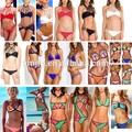 2015 del bloque del color de traje de neopreno Bikini traje de baño
