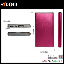 for gift power bank,power bank with ce rohs fcc approved,mobile phone power bank 5000--Shenzhen Ricom