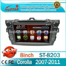 Toyota corolla 2007 Car Multimedia DVD+Radio+BT phonebook+Ipod list+USB +SWC+ATV+GPS+MP4/MP5