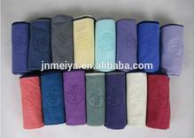 China manufacturer durable microfiber towel embossed
