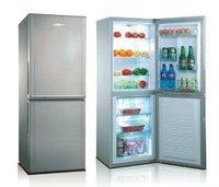 Double door stainless steel countertop pizza refrigerator