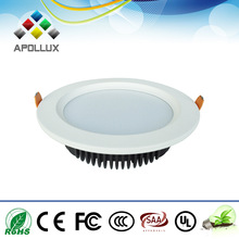 18W dimmable round led smd downlight recessed mounted