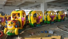 electric train of kiddie rides for children park