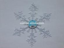 Plastic christmas decoration snowflake