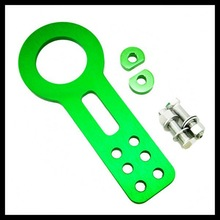 Racing Car JDM /BENEN Tractor Green Tow Hook Front and Rear/Car accessories