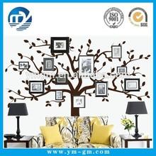 çıkarılabilir aile ağacı duvar sticker fotoğraf aile ağacı