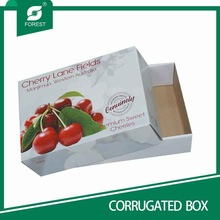 HIGH GRADE CUSTOMIZED COLORFUL FRUIT AND VEGETABLE BOXES