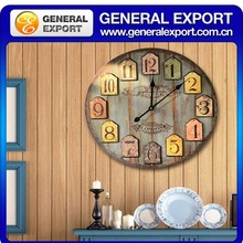 2015 new style antique wooden pendulum wall clock