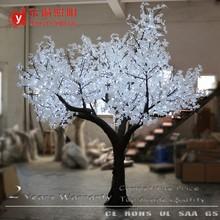 24 Volt Low Voltage artificial natural trunk white light artificial maple tree light