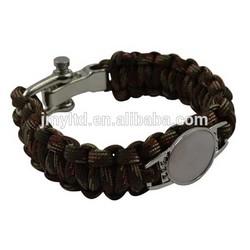 fashion Parachute cheap cross wholesales paracord bracelet 2015