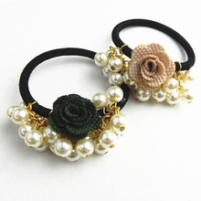Beautiful and easy fashionable pearl hair accessories