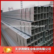 60x60 Pre-galvanized square steel pipe manufacture