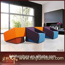 Made in China latest design high quality luxury italian fabric sofa American style sofa sets TX-276