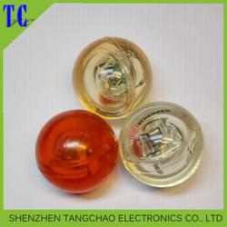2015 New flashing LED 49mm bouncing ball