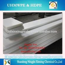 White trival virgin UHMW-PE polyethylene plastic boars/sheets/slats,uhmwpe board