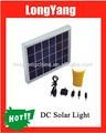interior mini kit de luz solar