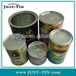 hot sale round tin case wholesale