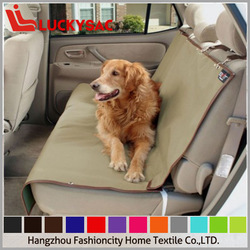 Luxury washable quilted padded dog cat pet car back seat back bench cover
