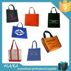 HNW-20 custom logo non woven shopping bag packing bag