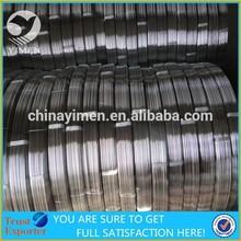 zinc coating oval wire export to Argentina market