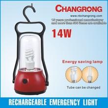 Chinese camping lantern solar energy-saving 14W CFL lantern