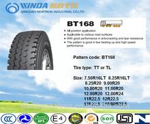 TBR tire,truck&bus tyre,radial tire,BT168 7.50R16LT 8.25R16LT 8.25R20 9.00R20 10.00R20 11.00R20 12.00R20 12.00R24 11R22.5