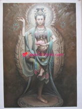 religious indian buddha oil paintings on canvas