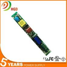 HG-503 Shenzhen 26W non-Isolate LED Tube Light Driver for T8 T10