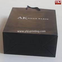 Full color printing paper hand bag shopping tote bag