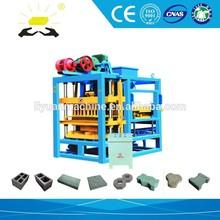 semi automatic machine for make bricks qt4-24 machinery