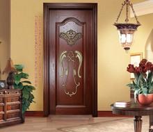 gold alibaba supplier wholesale solid wood door art