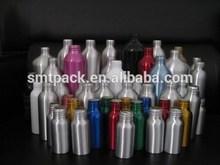 800ml pure aluminum skin care bottle with screw cap and pump