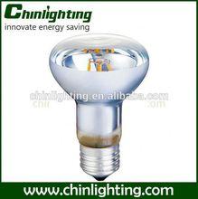 reflector made led lamp light clear r50 cog led bulb 4w mushroom incandescent clear bulbs