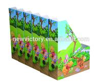 Foldable Cardboard Organizer table file rack