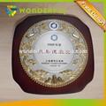 china de características regionales y el uso de recuerdos de la placa de madera