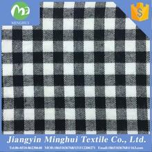 manufacturers stock lot 100% cotton plaid fabric import fabric china