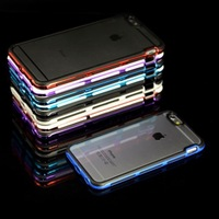PC+ TPU double color hybird bumper for iphone 6