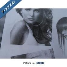 Personalizado design pattern transferência de calor vinil reflexivo para impressão de vestuário