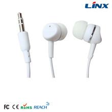 Good designed heated earmuff earphone disposable earphone covers sports earphone mp3 player