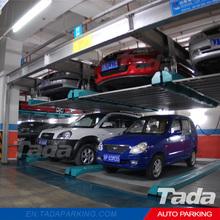 PSH automatic double deck vertical-horizontal parking machinery carport auto two level lift-sliding car parking systems